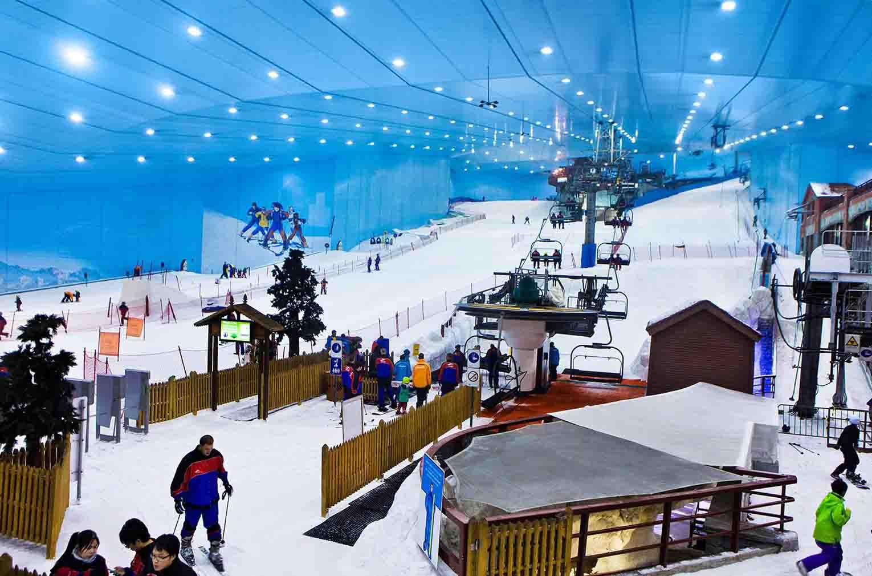 Дубай снежный комплекс квартиры в оаэ новые